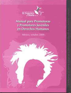 Manual para Promotoras y Promotores Juveniles en Derechos Humanos