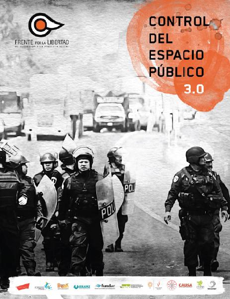Control del espacio público: Tercer informe sobre protesta social en México