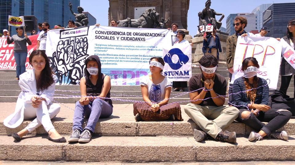 """México Mejor Sin TPP"""