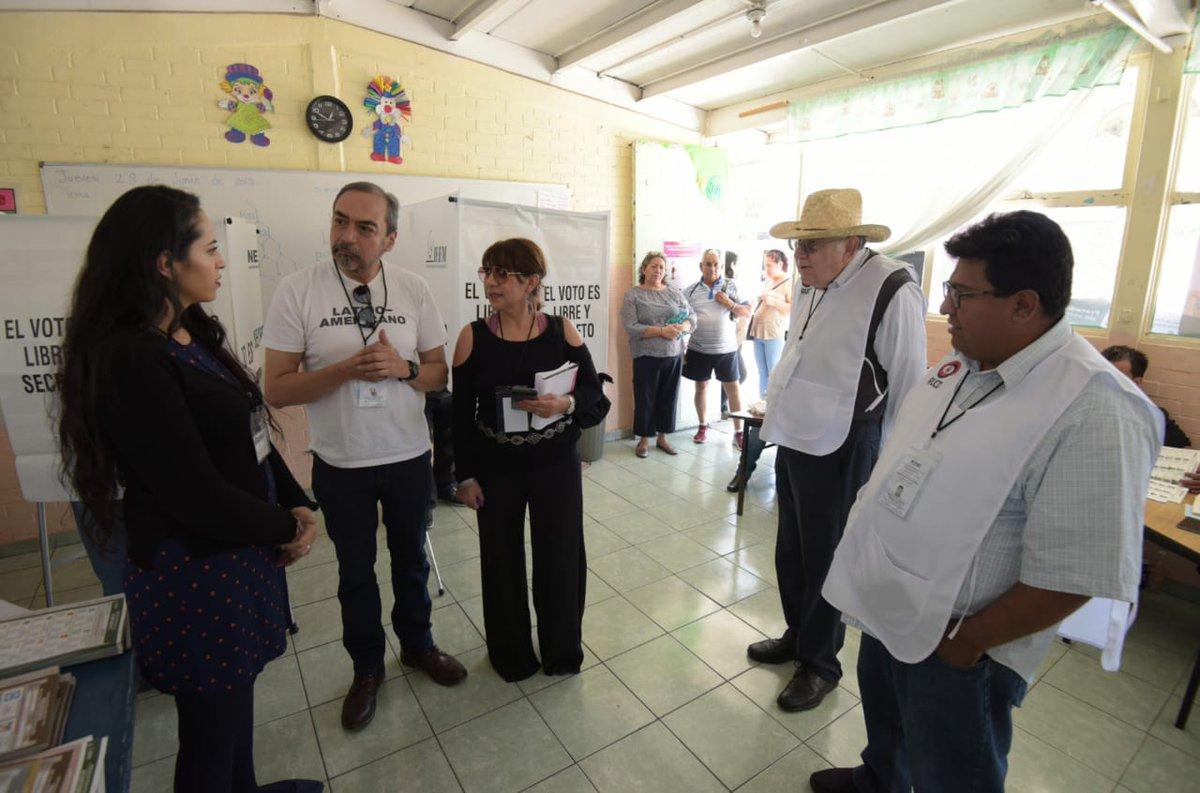 Reportes Informativos de la Red Universitaria y Ciudadana por la Democracia durante la Jornada Electoral