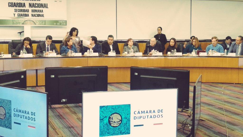 Audiencias públicas «Guardia Nacional» | Participación de Miguel Concha en la Mesa sobre Derechos Humanos y Guardia Nacional en la Cámara de Diputados