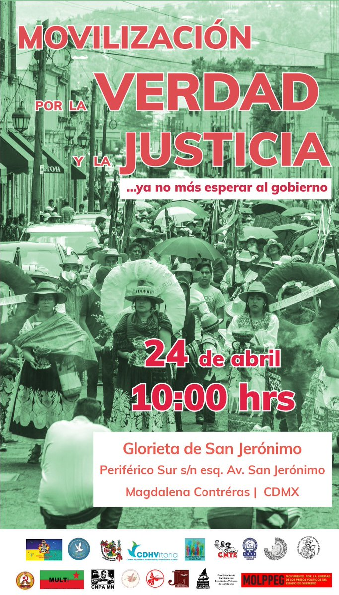 Movilización por la verdad y la justicia