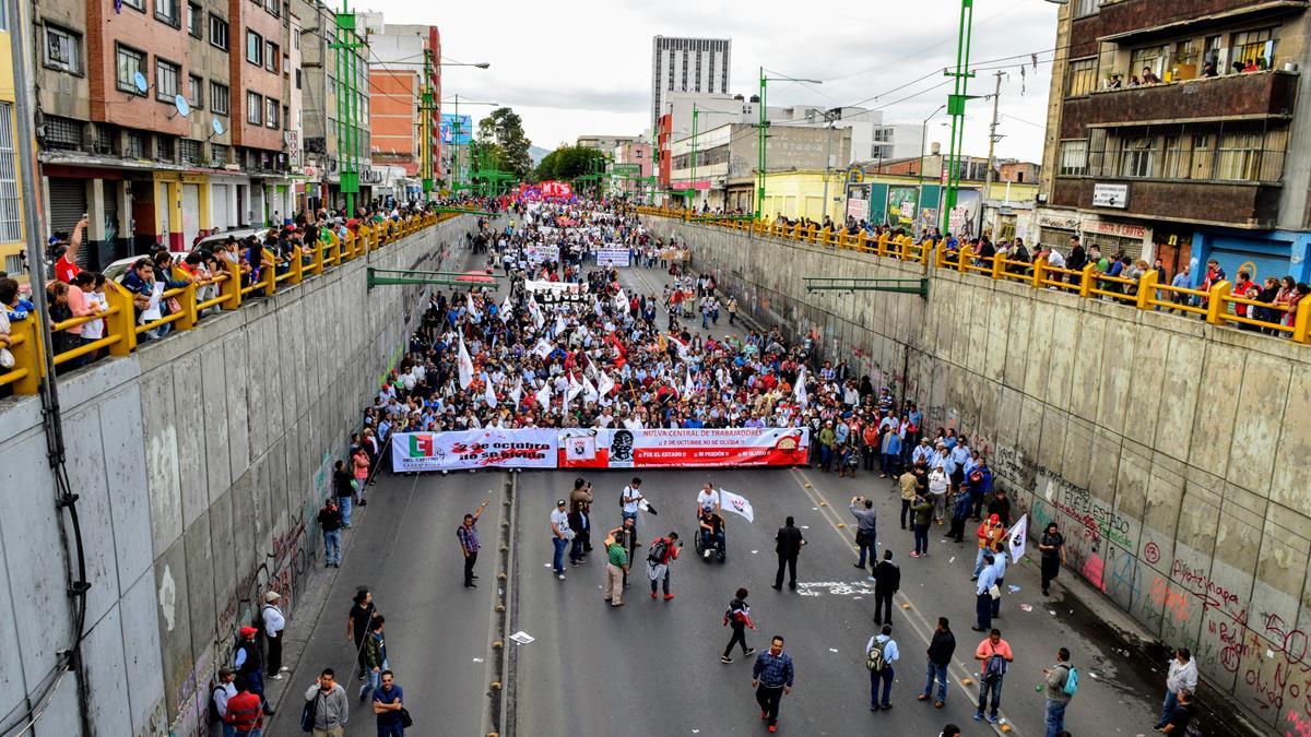 Uso de la fuerza y la protesta social