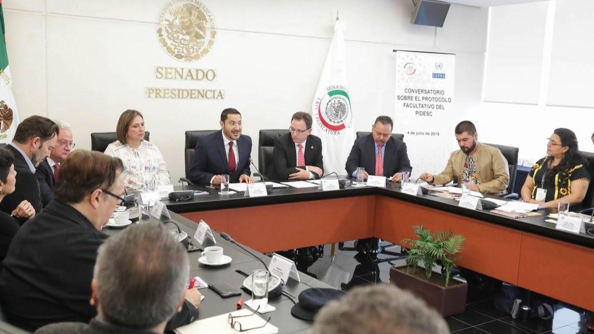 Conversatorio en el Senado sobre el Protocolo Facultativo del PIDESC | Participación del CDHVitoria