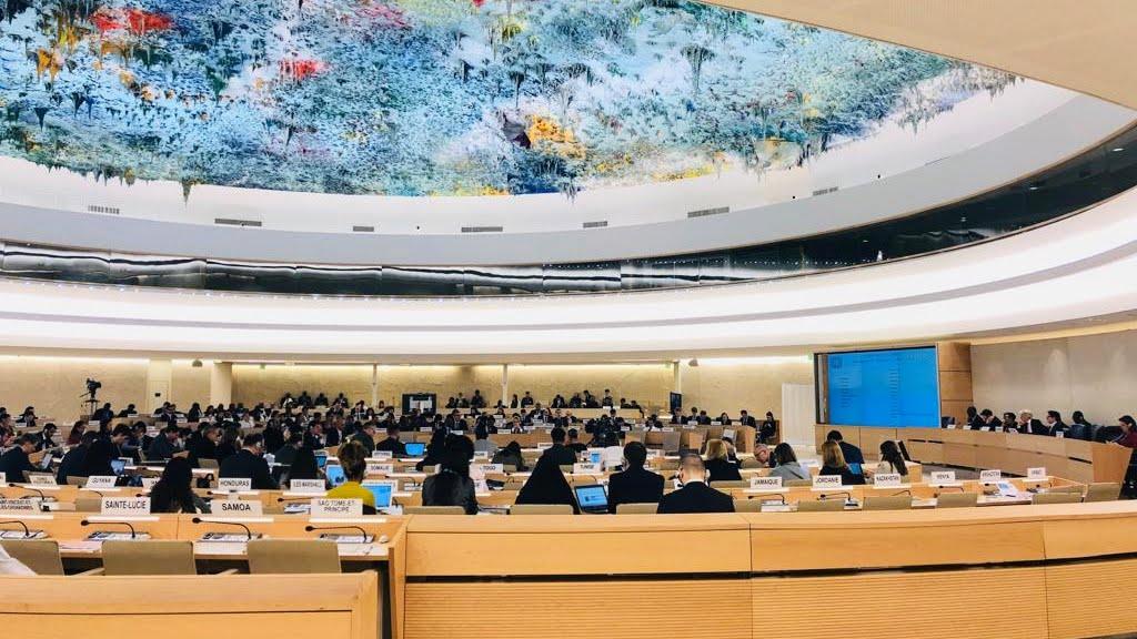 127 sesión del Comité de Derechos Humanos de la ONU | Participación de Dominicans for Justice and Peace y CDHVitoria