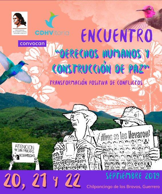Encuentro | «DH y Construcción de paz», transformación positiva de conflictos
