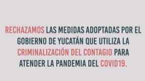 Criminalizar el contagio durante la pandemia Covid-19 vulnera Derechos Humanos