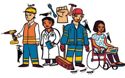 Guía sobre derechos humanos laborales para personas defensoras de DH y OSC