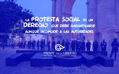 Respetar y garantizar las condiciones para el ejercicio de la protesta es primordial aunque incomode a las autoridades